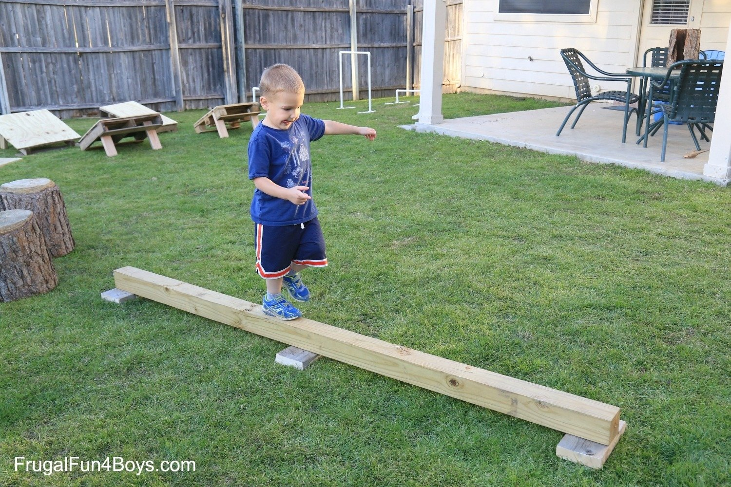 10 Fashionable Obstacle Course Ideas For Kids diy american ninja warrior backyard obstacle course 2 2021