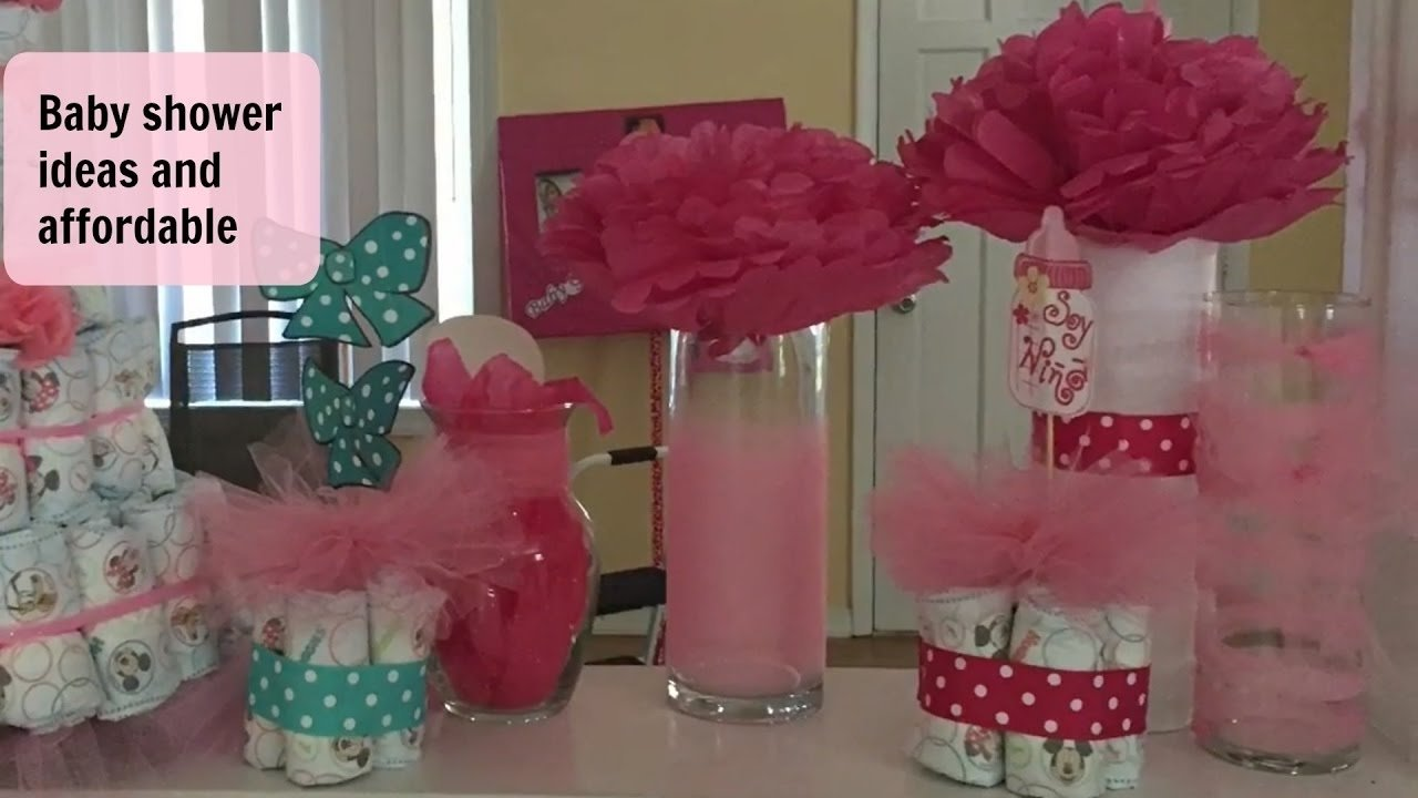 10 Lovely Baby Shower On A Budget Ideas diy baby shower decor on a budget youtube 2021