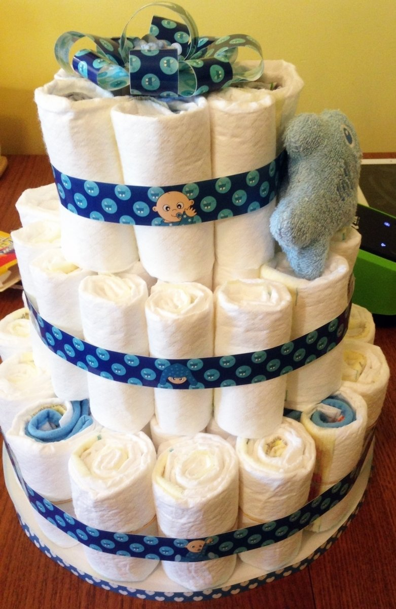 10 Stylish Homemade Baby Shower Gift Ideas diy baby shower gift ideas diaper cake baby shower ideas gallery 2021