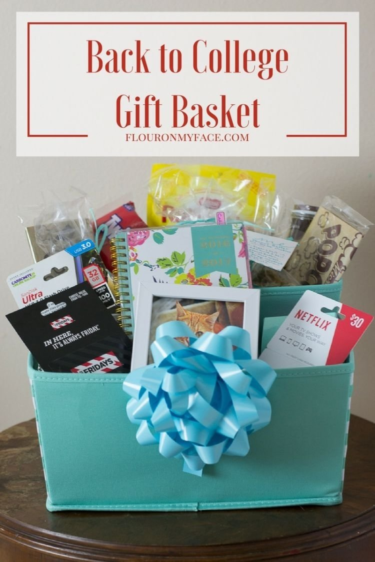 10 Attractive Gift Ideas For College Students diy back to college gift basket giftcardmall gcmallbts flour on 1