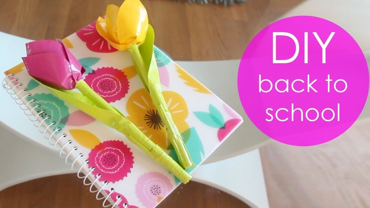 10 Lovable How To Project Ideas For School diy back to school projects youtube