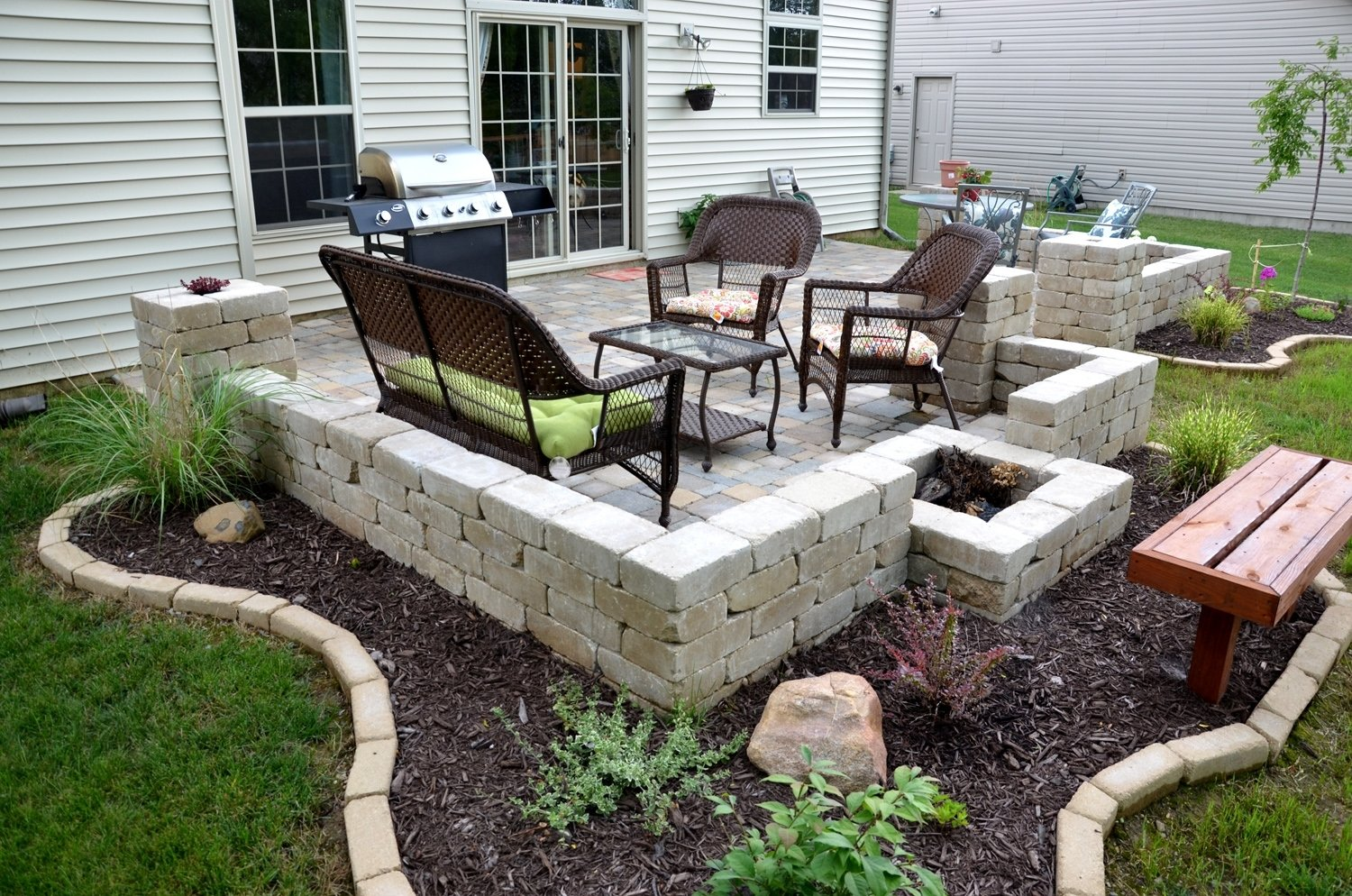 10 Ideal Do It Yourself Patio Ideas diy backyard paver patio outdoor oasis tutorial the rodimels 2020
