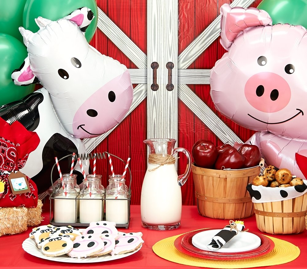 10 Wonderful Farm Animal Birthday Party Ideas