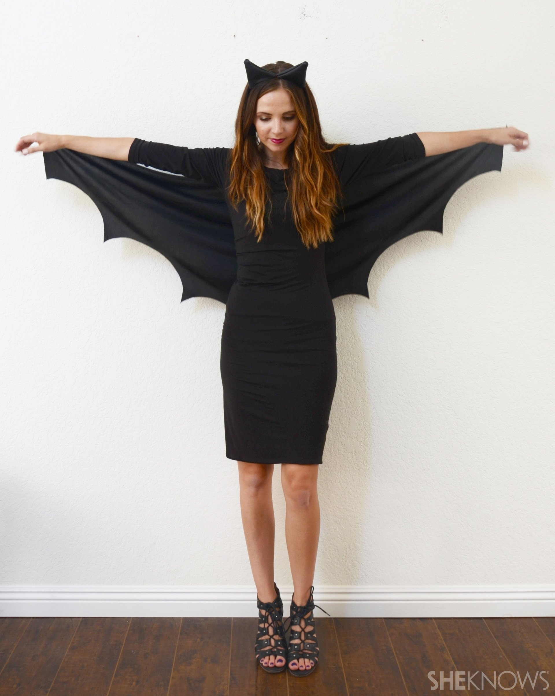 10 Beautiful Halloween Costume Ideas For Women Diy diy bat costume so easy no one will know it only took 10 minutes 2020