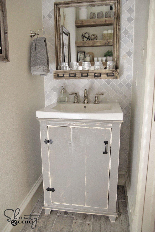 10 Beautiful Do It Yourself Bathroom Ideas diy bathroom vanity from dresser 2020