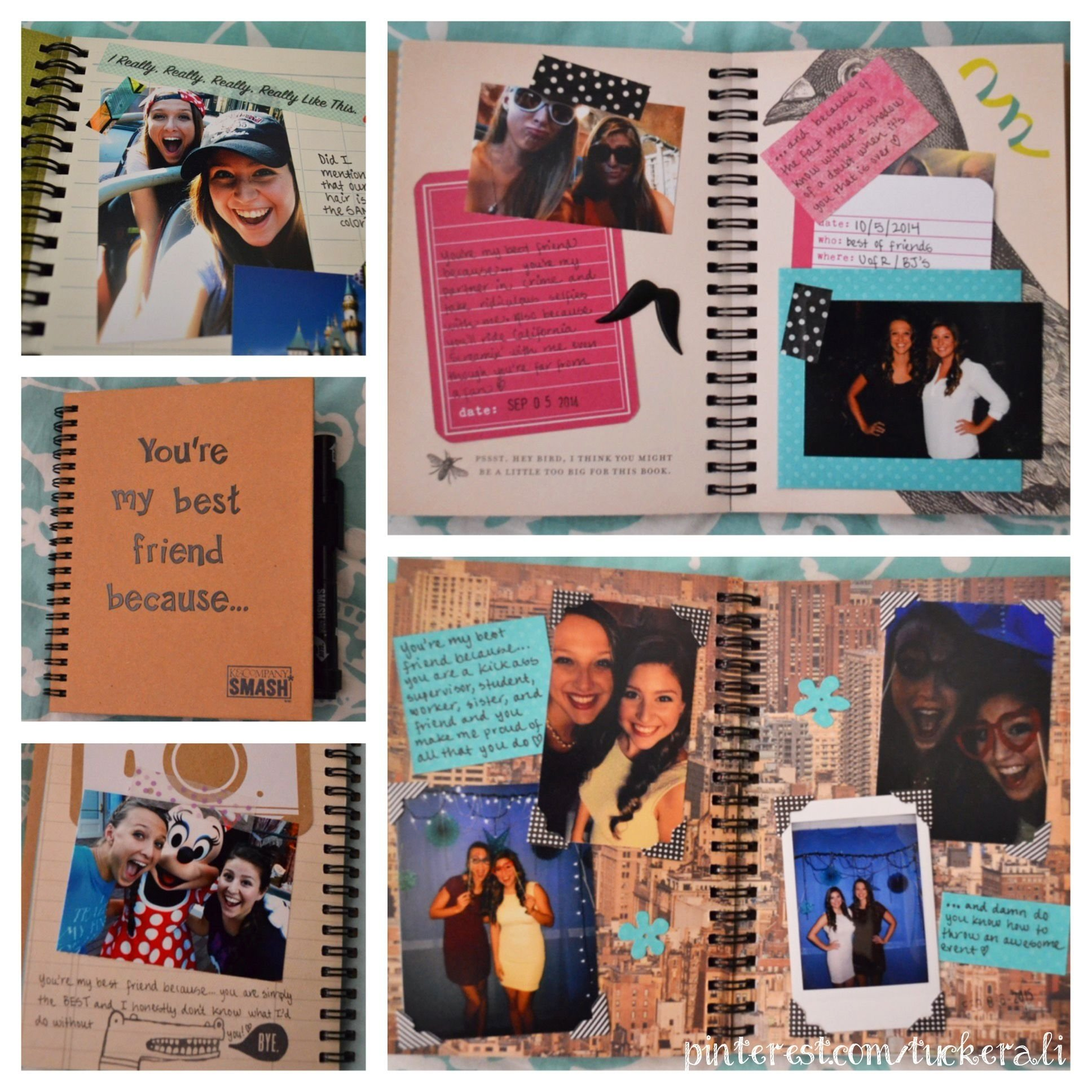 10 Trendy Graduation Gift Ideas For Friends diy best friend gift i made this book titled youre my best friend