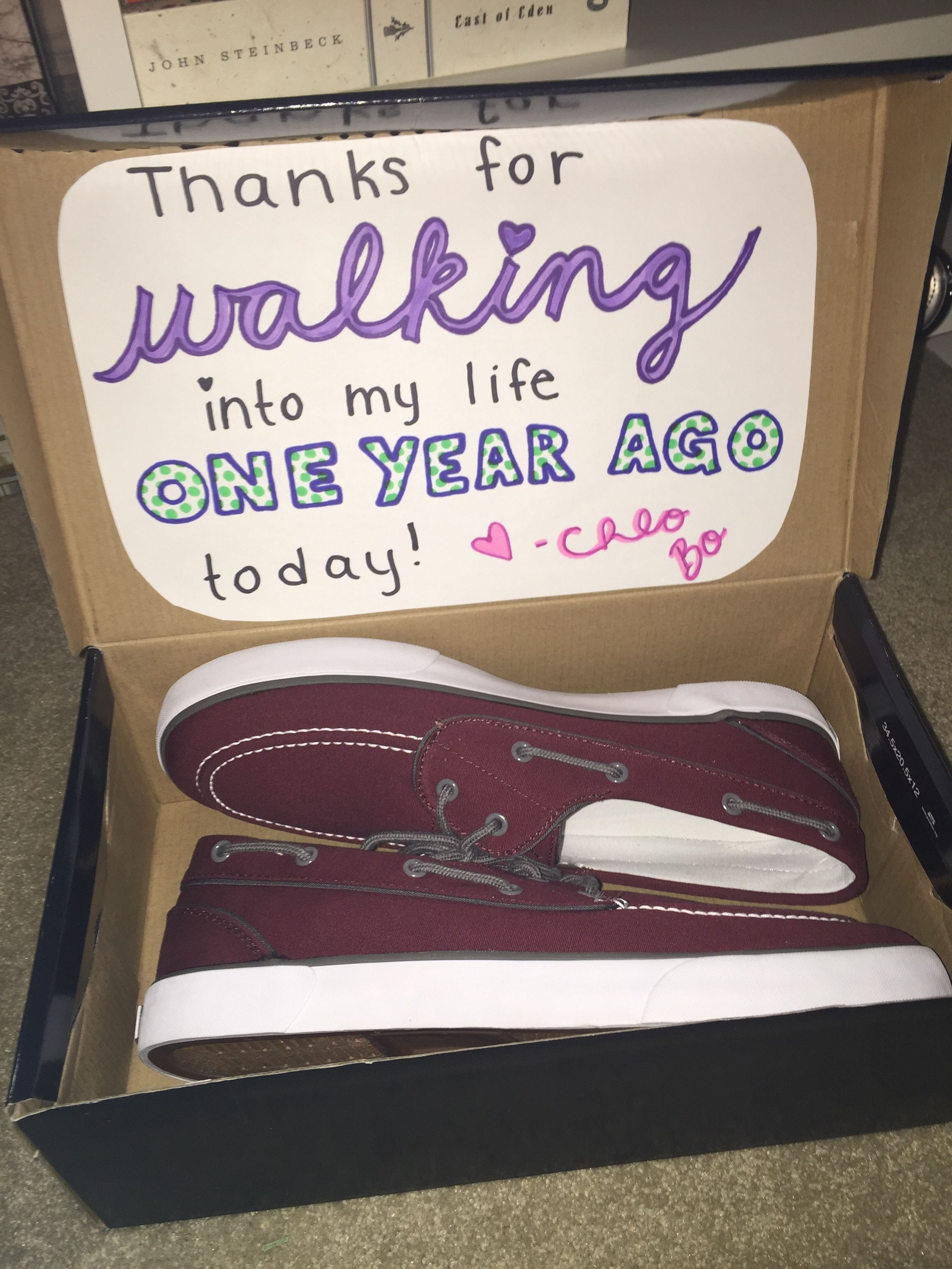 10 Wonderful One Year Anniversary Ideas For Boyfriend diy boyfriend gift my boyfriend and i are coming up on our one 12 2020