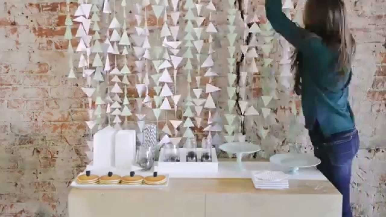 10 Most Popular Bridal Shower Decoration Ideas Homemade diy bridal shower decoration ideas video mywedding youtube 1