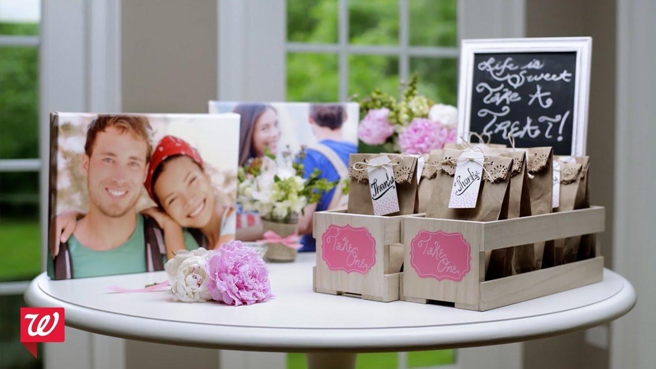 10 Most Recommended Bridal Shower Decoration Ideas Diy diy bridal shower ideas walgreens youtube