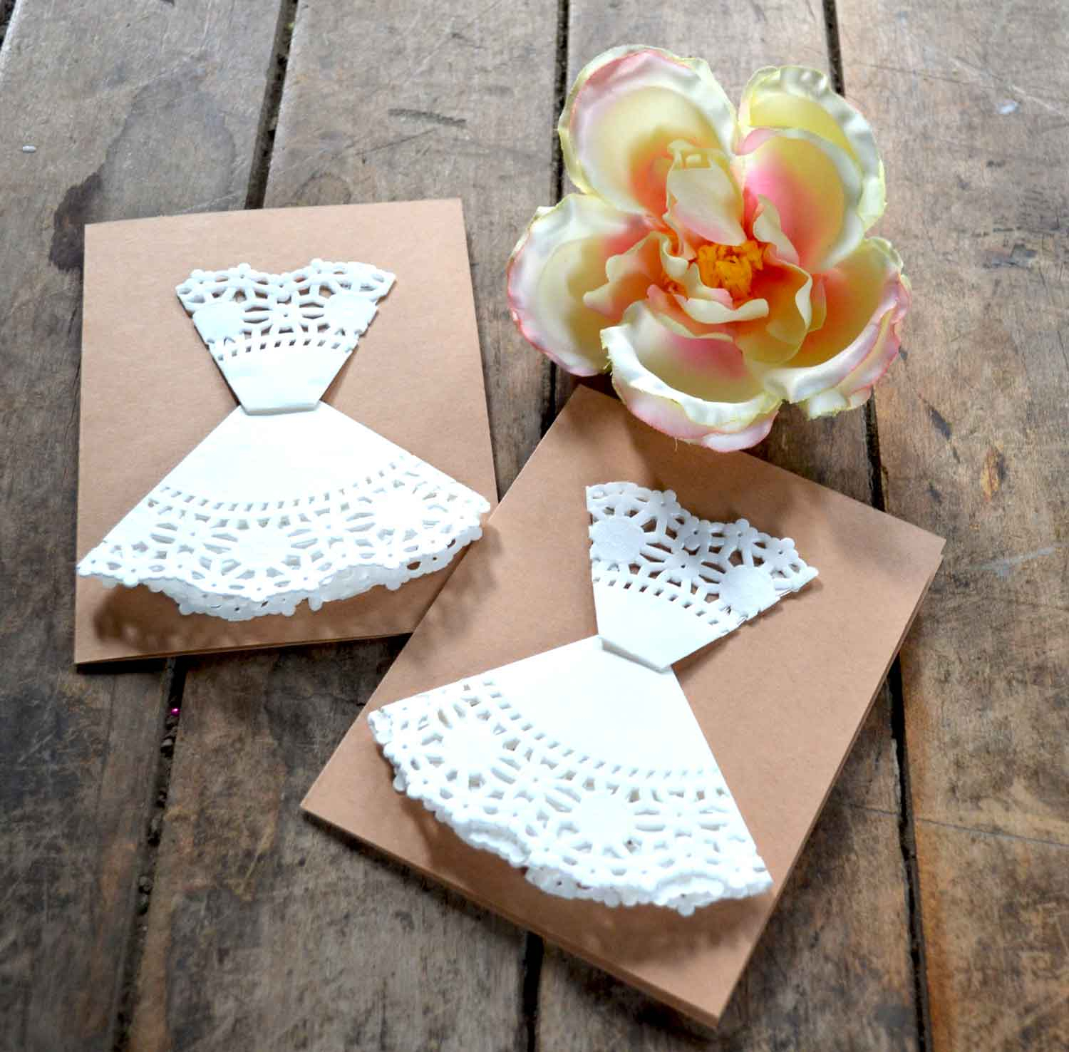 diy bridal shower invitations - ever after in the woods