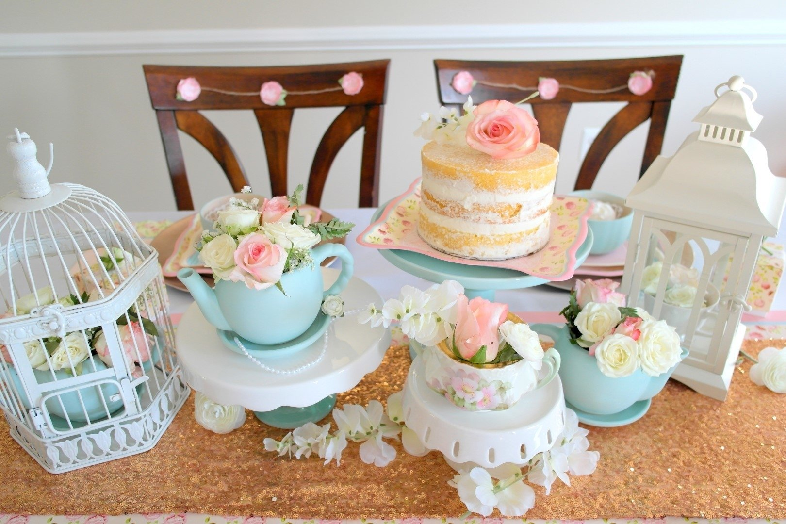 10 Beautiful Tea Party Bridal Shower Ideas diy bride vintage tea party bridal shower 2020
