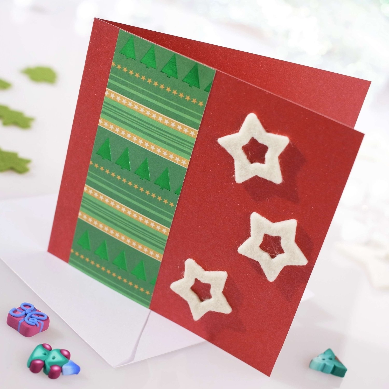 10 Pretty Ideas For Homemade Christmas Cards diy christmas cards ideas christmas cards ideas christmas cards 2020