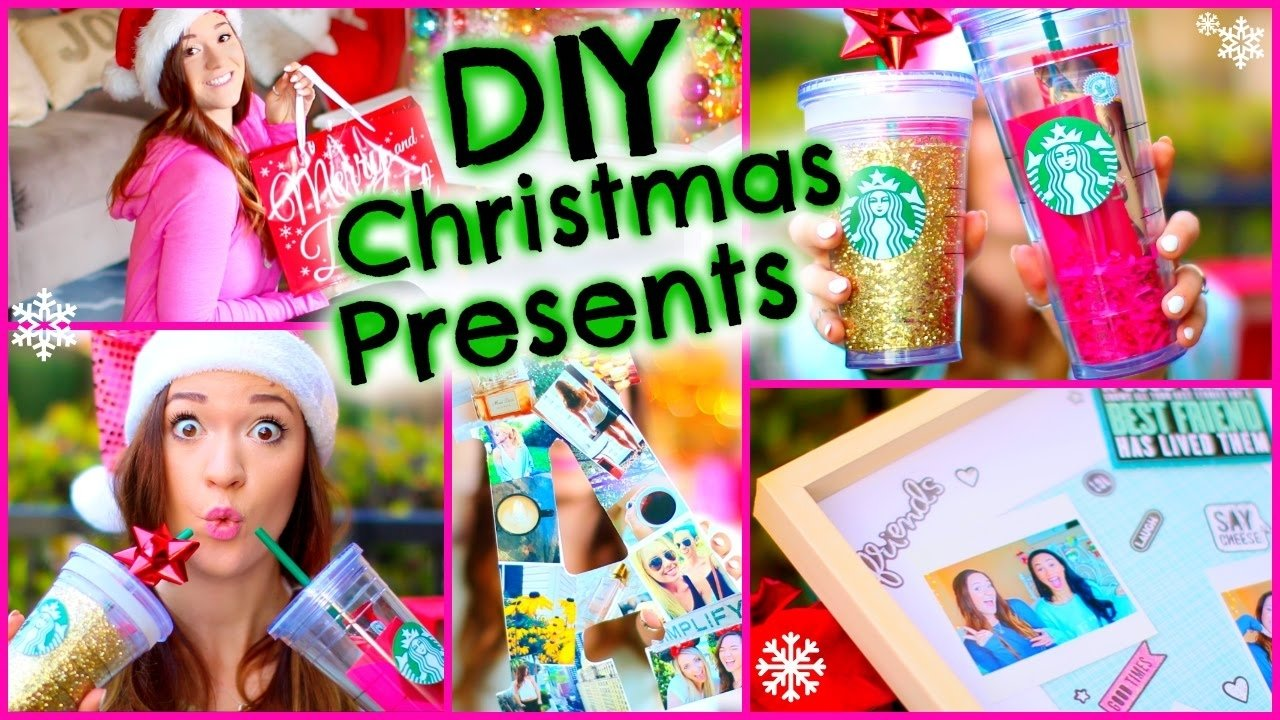 10 Beautiful Homemade Christmas Gift Ideas For Friends diy christmas presents e299a1 cute holiday gift ideas for youtube 1 2020