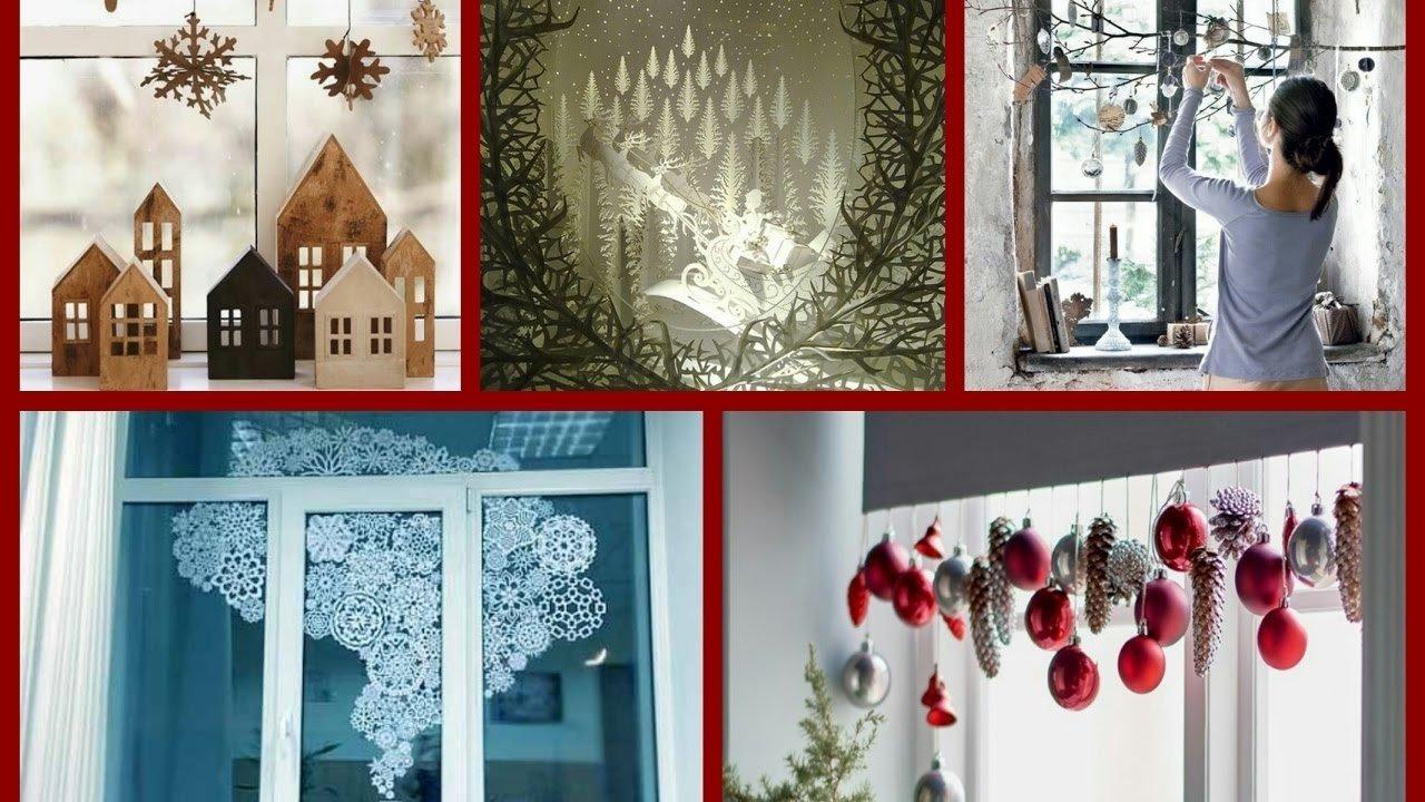 10 Fabulous Christmas Decorating Ideas For Windows diy christmas window decorations ideas winter decorating ideas 2020