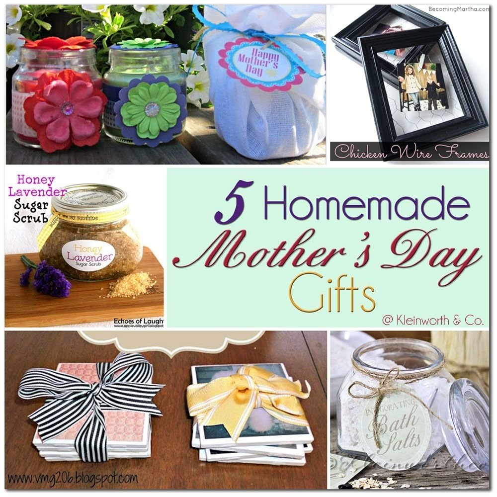 10 Fabulous Creative Homemade Mothers Day Gift Ideas diy coffee infused bath salts 5 homemade mothers day gifts 2020