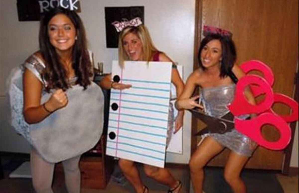 10 Great Halloween Costume Ideas For 3 Women diy costume ideas for 2 3 peoplef09f94a5 on the hunt 1 2020