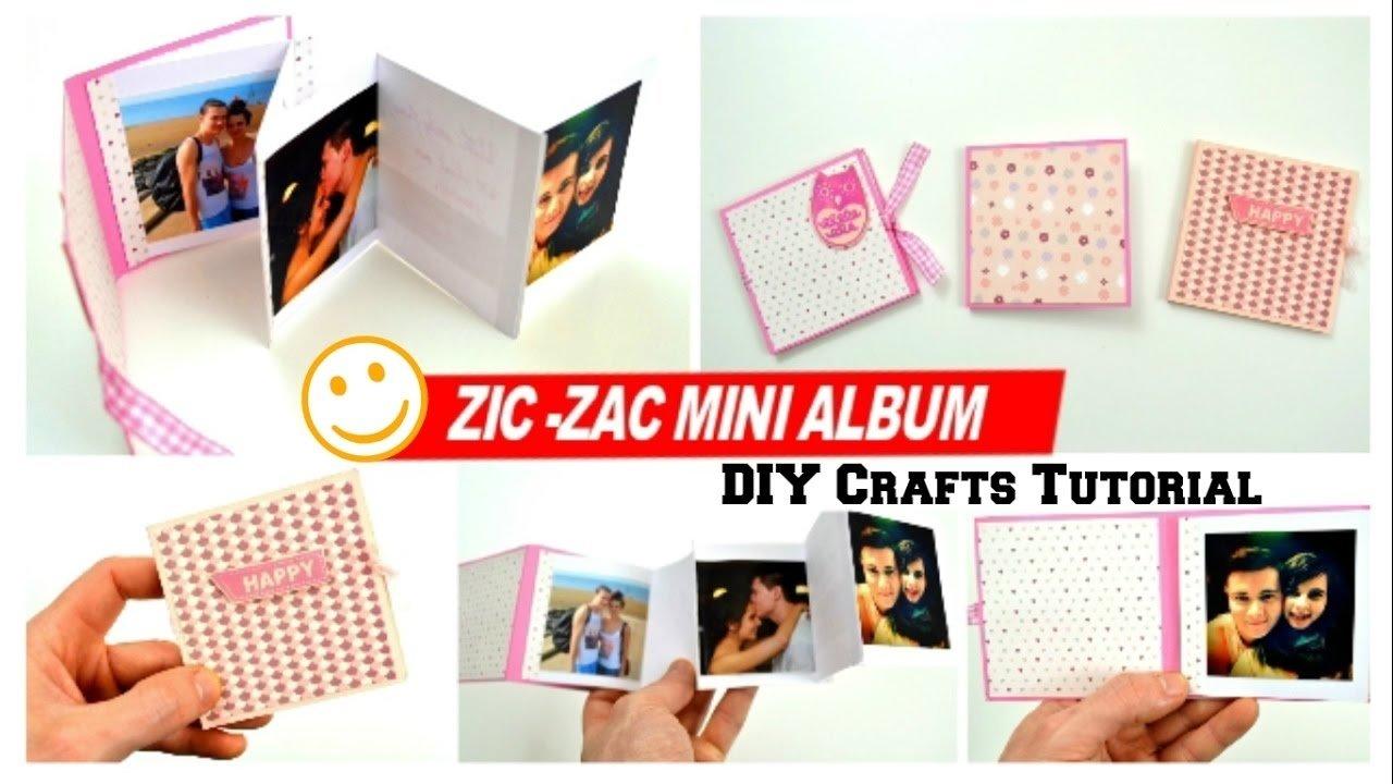 10 Most Recommended Photo Album Ideas For Boyfriend diy crafts how to make a mini photo album for boyfriend diy