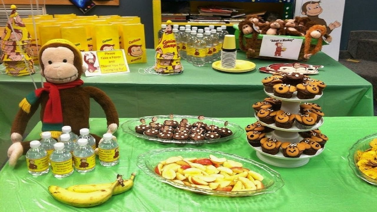 10 Fashionable Curious George Birthday Party Ideas diy curious george birthday ideas youtube 2020