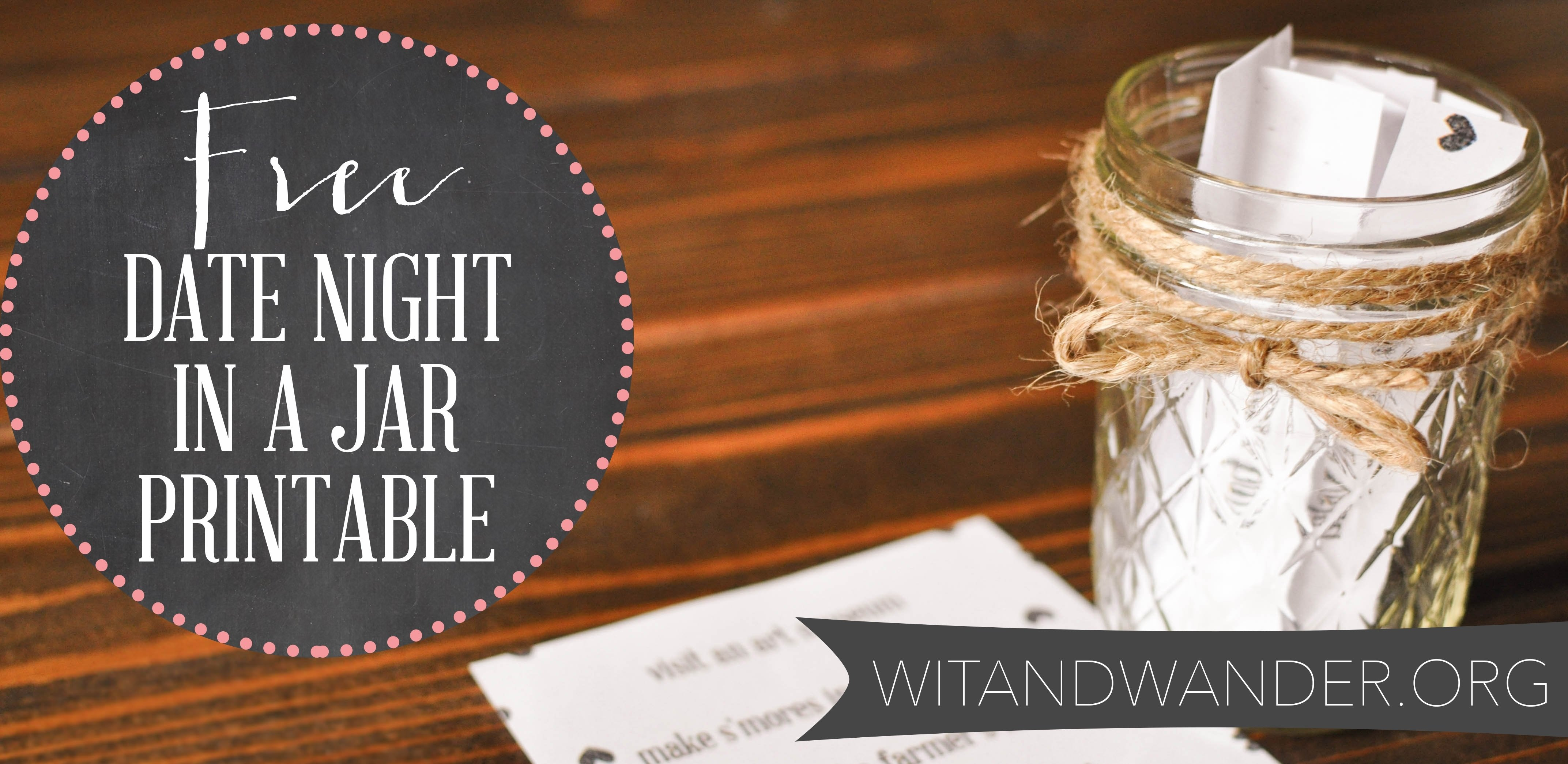 10 Fashionable Fun Date Ideas In Dallas diy date night jar plus a free printable our handcrafted life