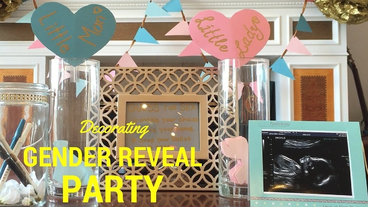 10 Ideal Gender Reveal Party Decoration Ideas diy decorating ideas for gender reveal party youtube 2020