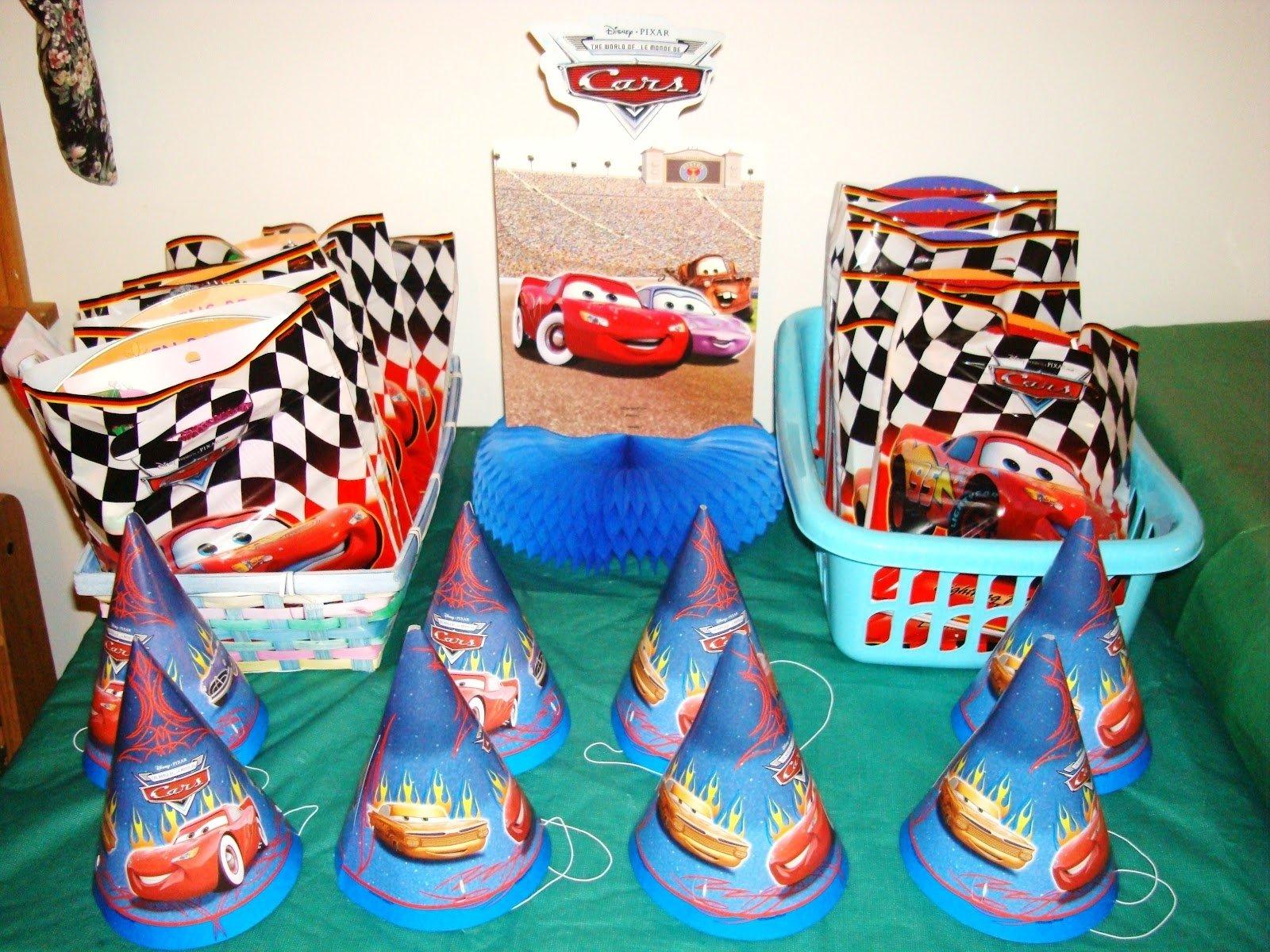 diy disney cars birthday party ideas — criolla brithday & wedding