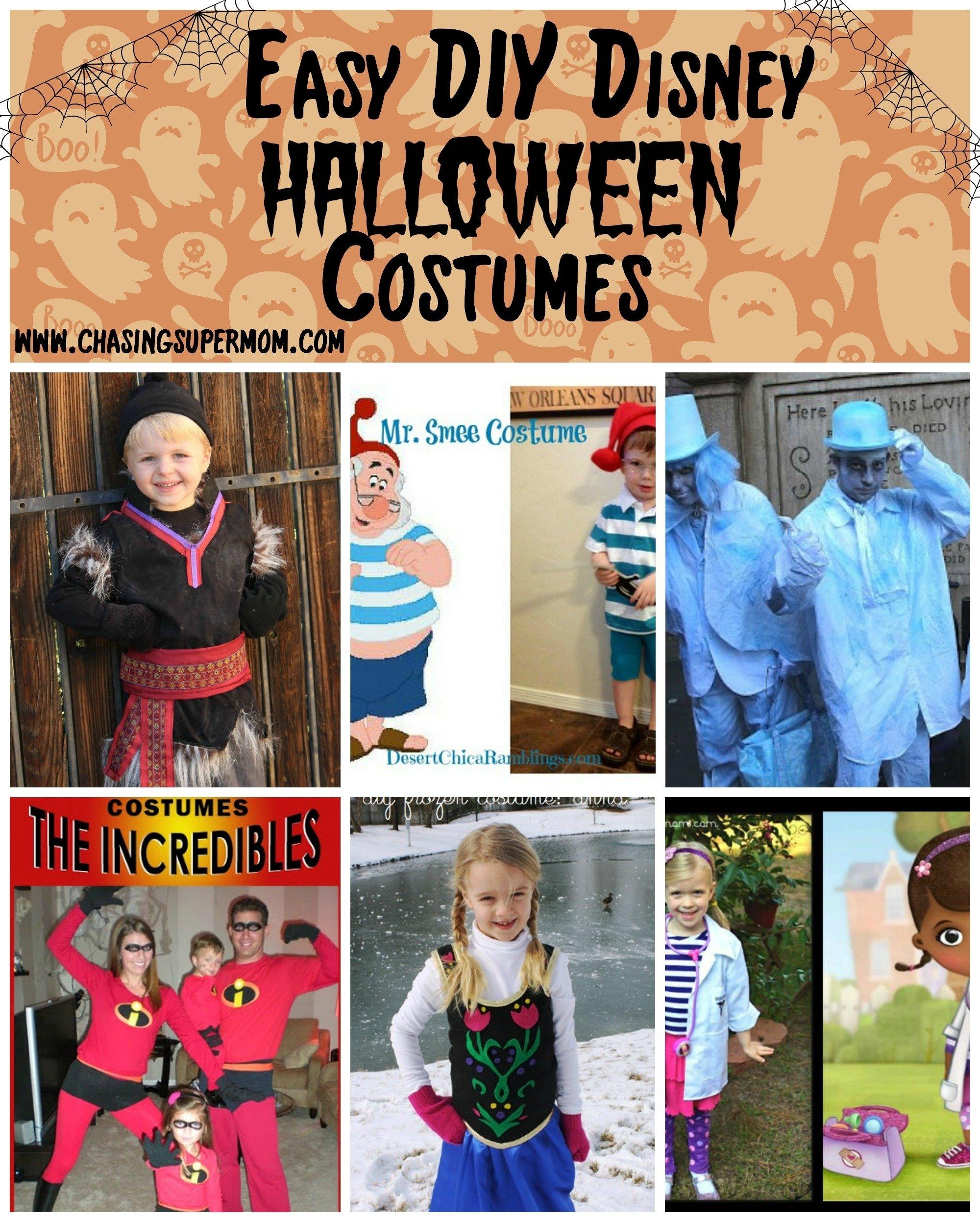 10 Beautiful Disney Character Dress Up Ideas diy disney halloween costume round up easy diy disney costumes 2020