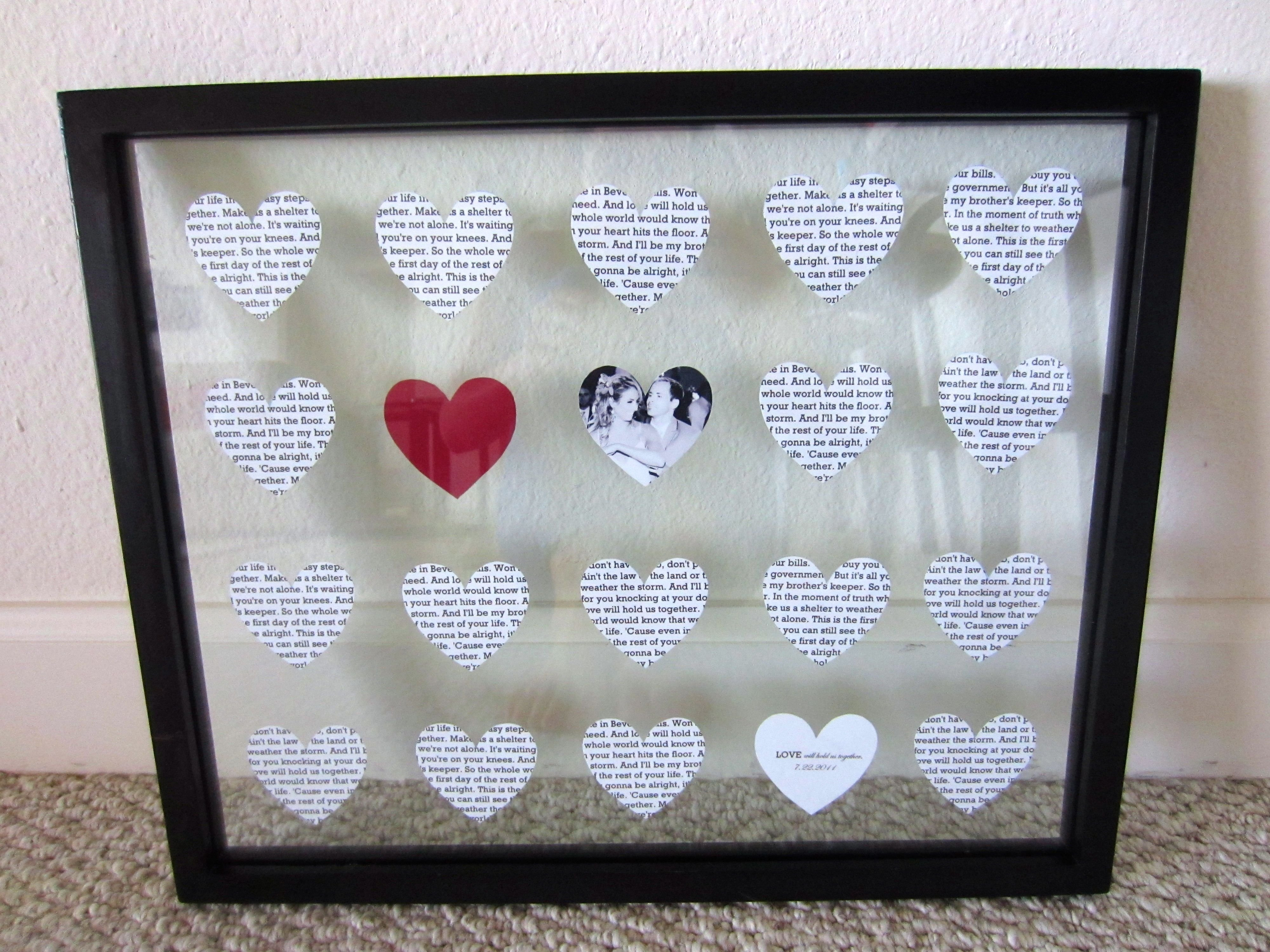 10 Fashionable Diy Anniversary Gift Ideas For Him diy diy 1 year anniversary gift paper housewife glamour 2020
