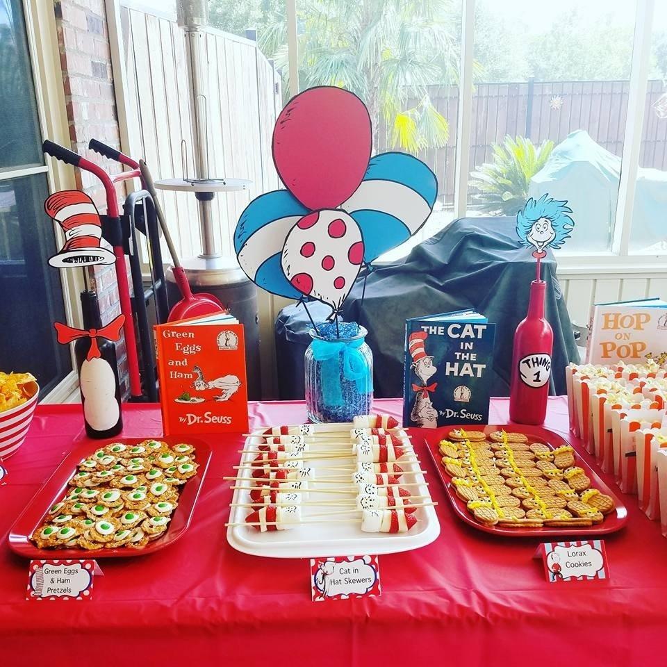 diy dr. seuss 1st birthday party! - project nursery