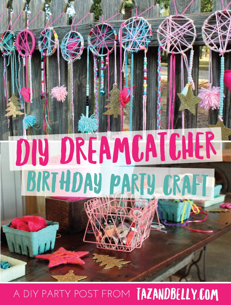 10 Awesome Slumber Party Ideas For 11 Year Olds diy dream catcher party craft diy dream catcher dream catchers 1 2020