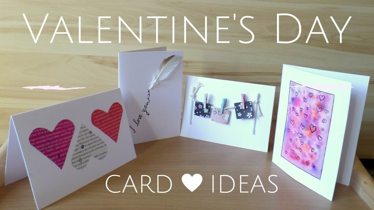 diy easy valentine's day cards | creative valentine card ideas for