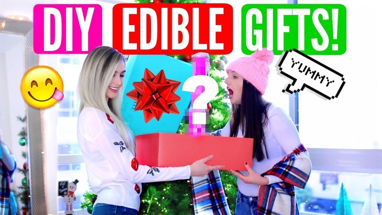 10 Amazing Birthday Gift Ideas For Friend diy edible gift ideas diy christmas birthday gifts for friends 2020