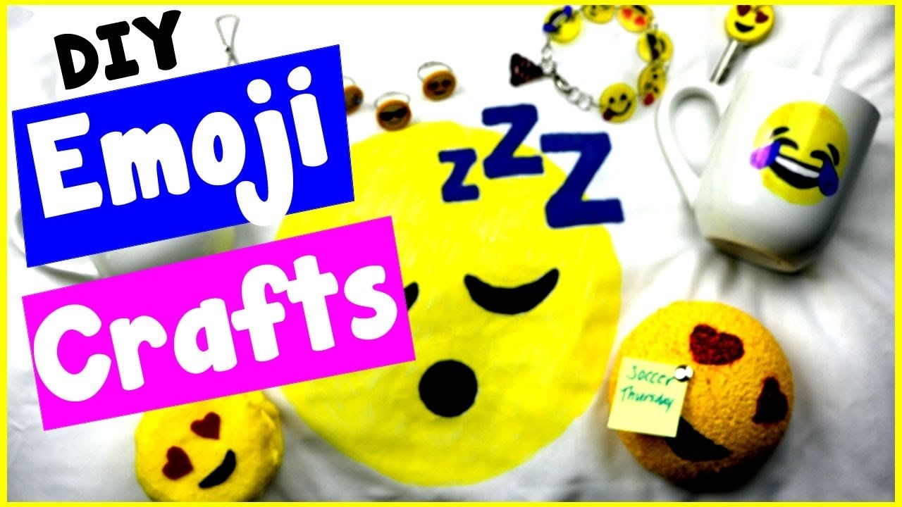 10 Attractive Craft Ideas For 10 Year Olds diy emoji craft ideas 10 cool diy project tutorials bracelets