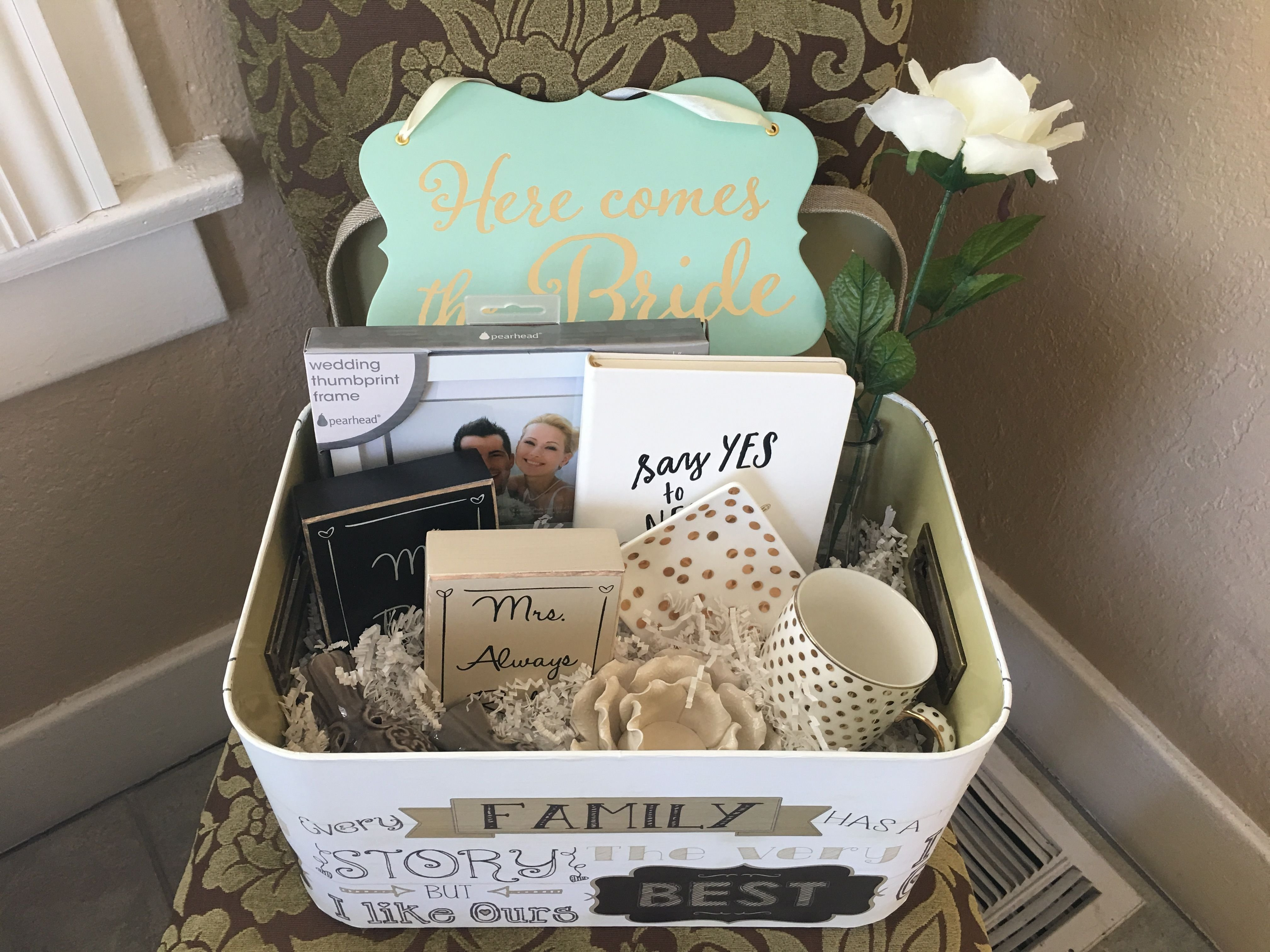 10 Amazing Bed Bath And Beyond Gift Ideas diy engagement gift basket items from bed bath and beyond hobby