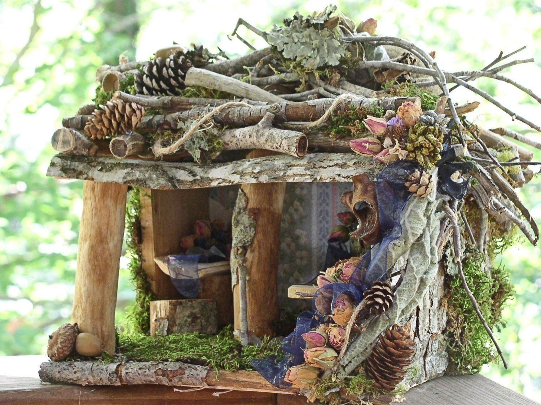 10 Lovely How To Build A Fairy House Ideas