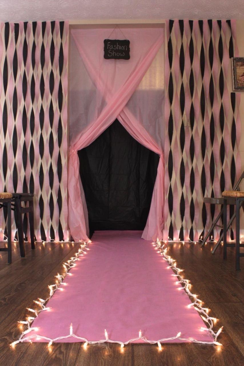 10 Unique Fashion Show Birthday Party Ideas diy fashion show runway for birthday party diy pinterest diy 2020