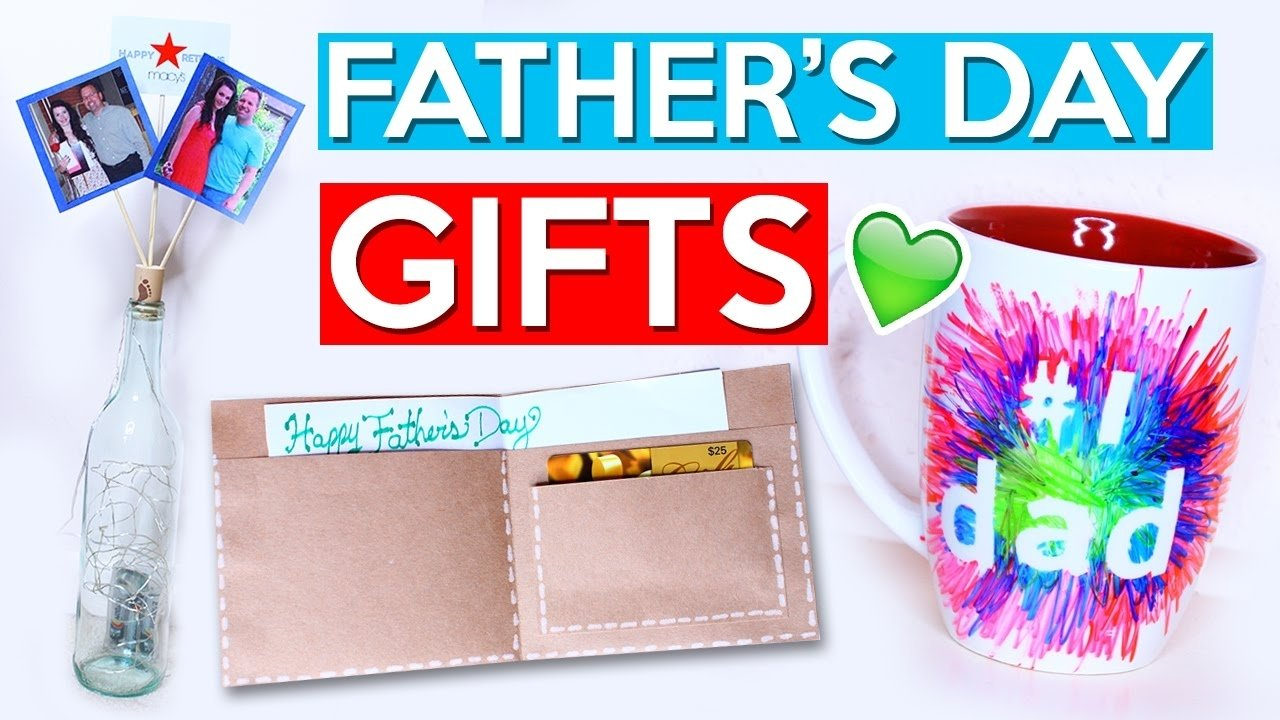 10 Lovable Homemade Father Day Gift Ideas diy fathers day gift ideas youtube 8 2020