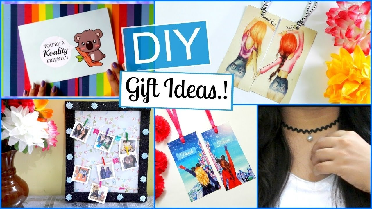 10 Fabulous Diy Gift Ideas For Friends diy friendship day gift ideas easy and last minute youtube 1