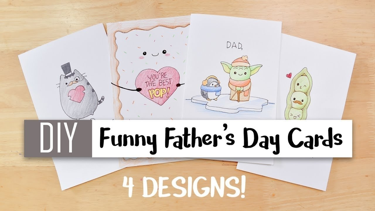 10 Lovable Cute Fathers Day Card Ideas diy funny fathers day cards easy 4 cute puns card ideas for dad 1 2020