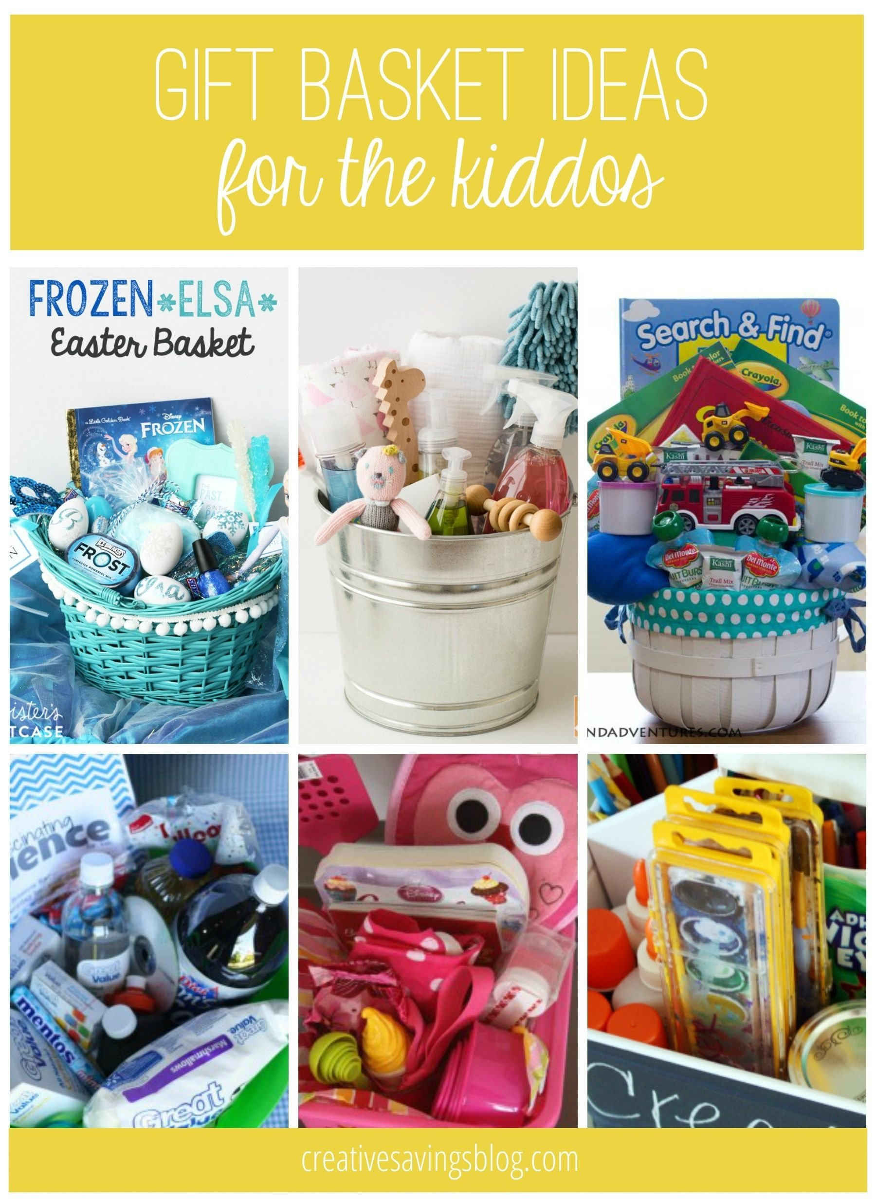 10 Fashionable Gift Basket Ideas For Kids diy gift basket ideas for everyone on your list basket ideas