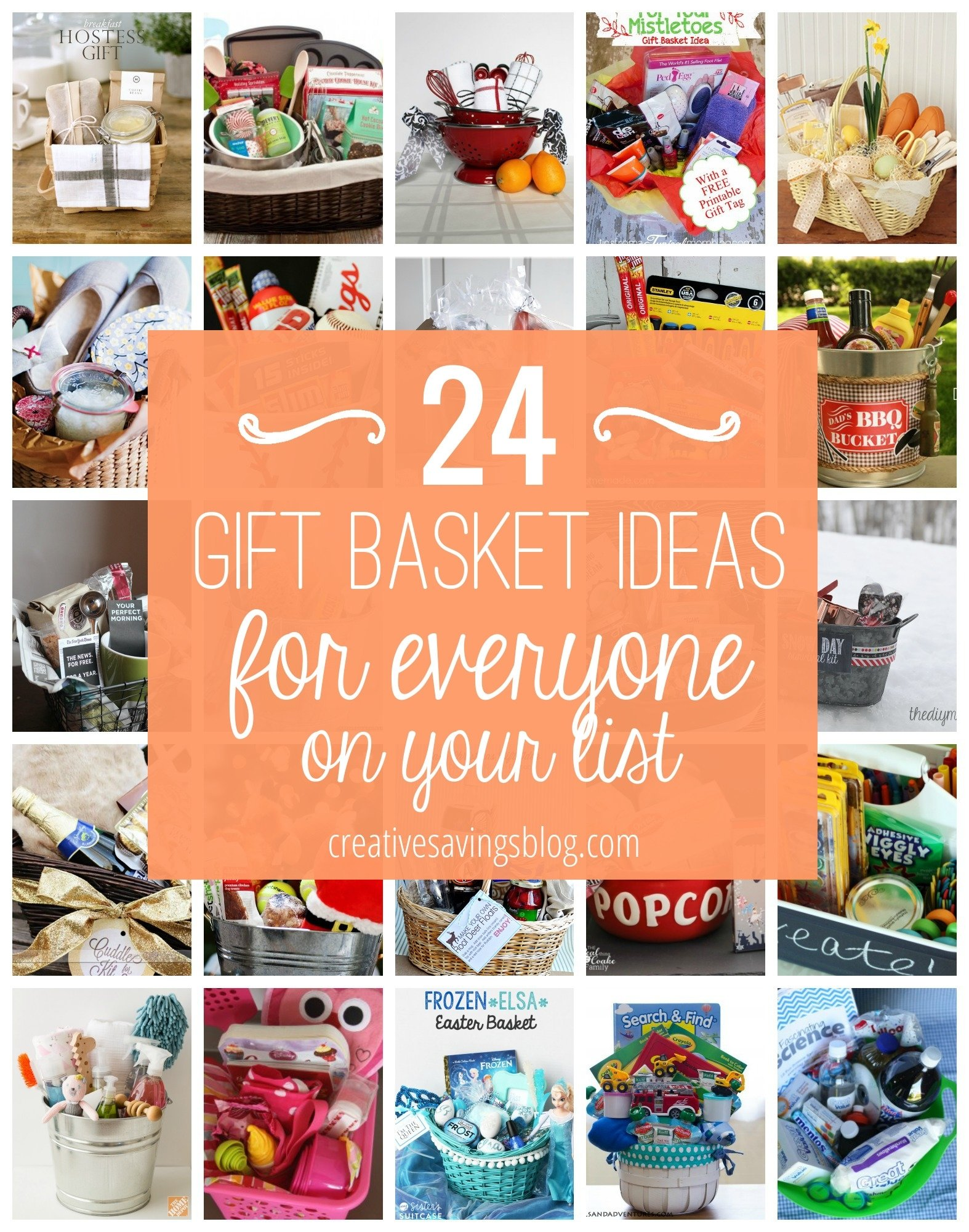 10 Fashionable Ideas For A Gift Basket diy gift basket ideas for everyone on your list 2020