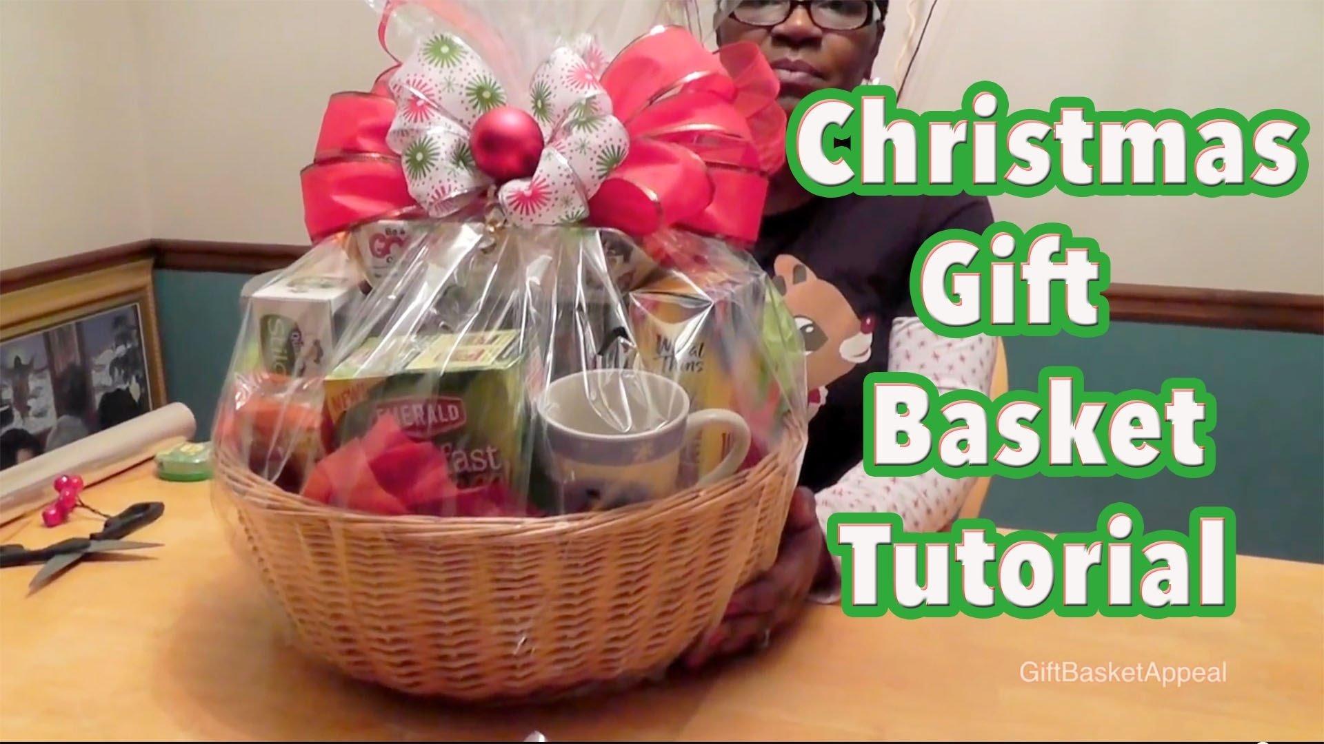 10 Fabulous Diy Christmas Gift Basket Ideas diy gift basket tutorial christmas gift basket giftbasketappeal 4 2020