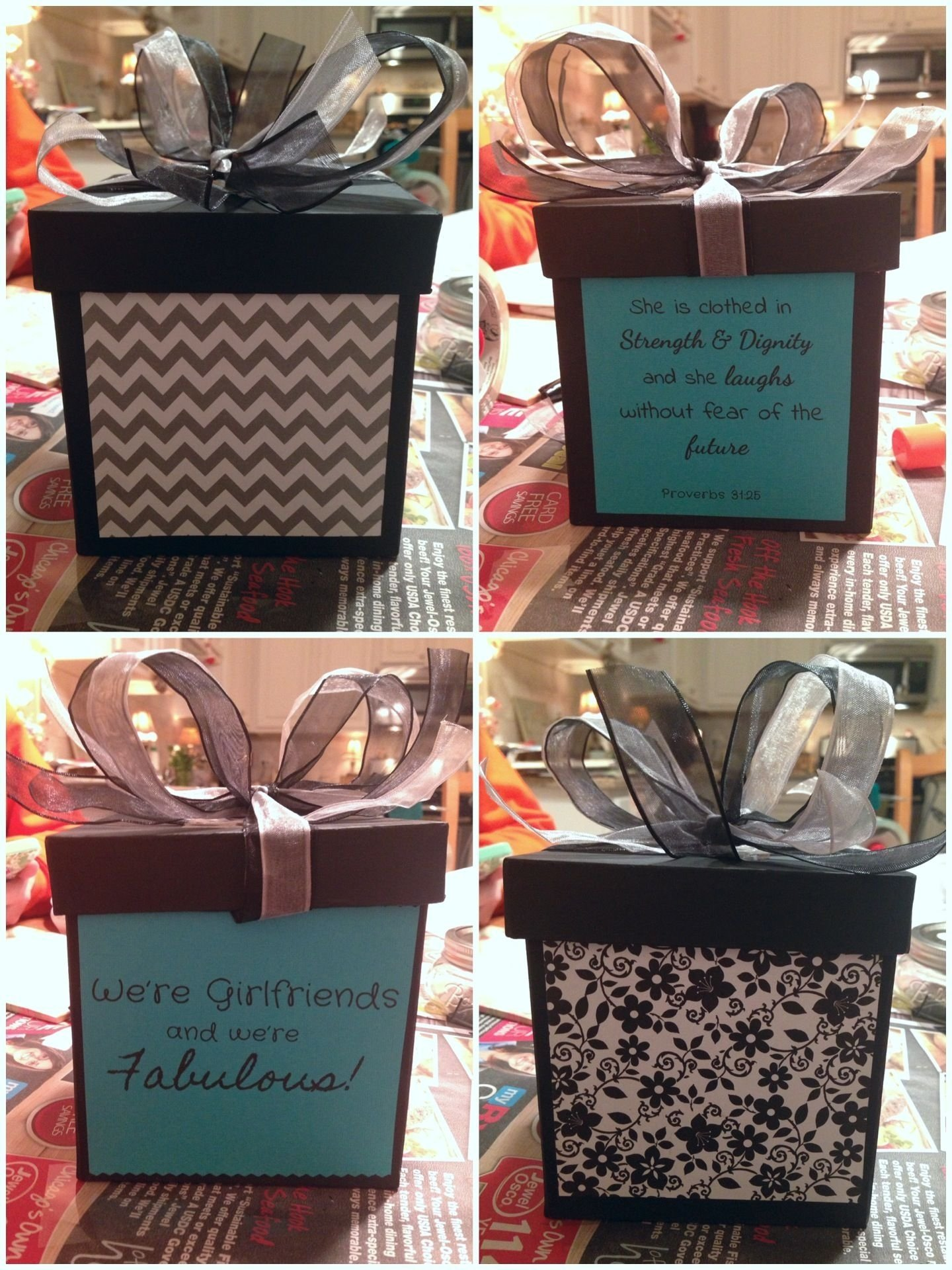 10 Gorgeous Creative Birthday Gift Ideas For Best Friend Diy Box I Made My
