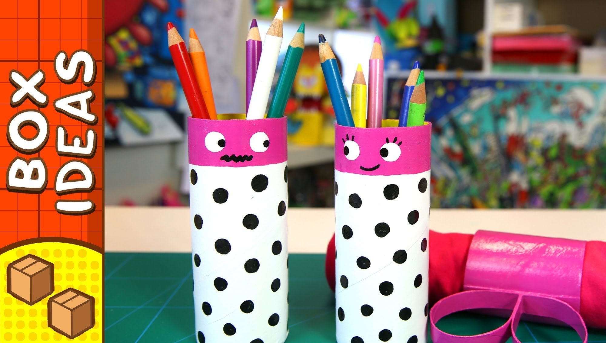 10 Famous Cool Craft Ideas For Kids diy gift box pencil couple craft ideas for kids on box yourself 2021