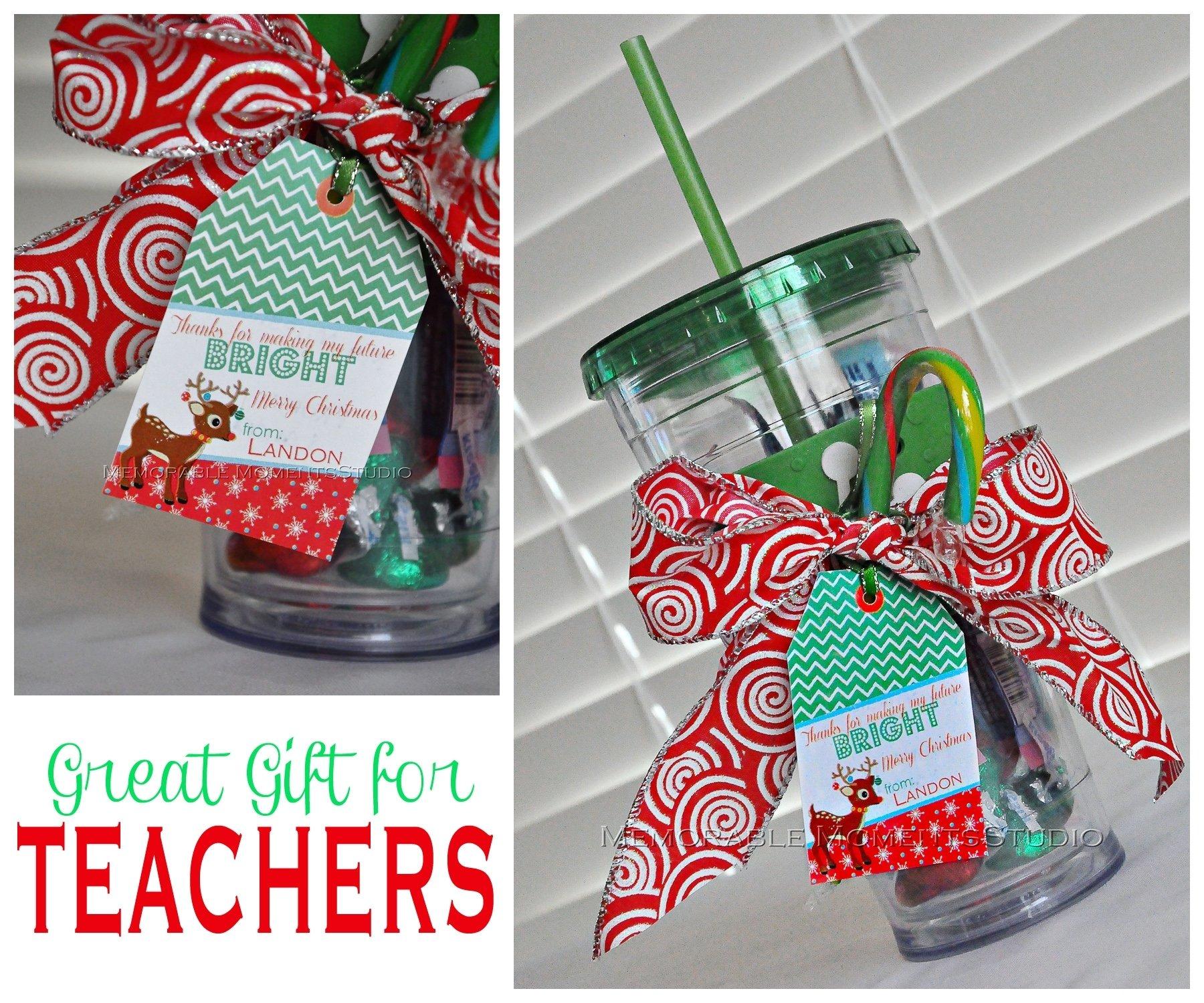 10 Great Gift Ideas For Teachers Christmas diy gift idea of the day teacher gift 1 2020