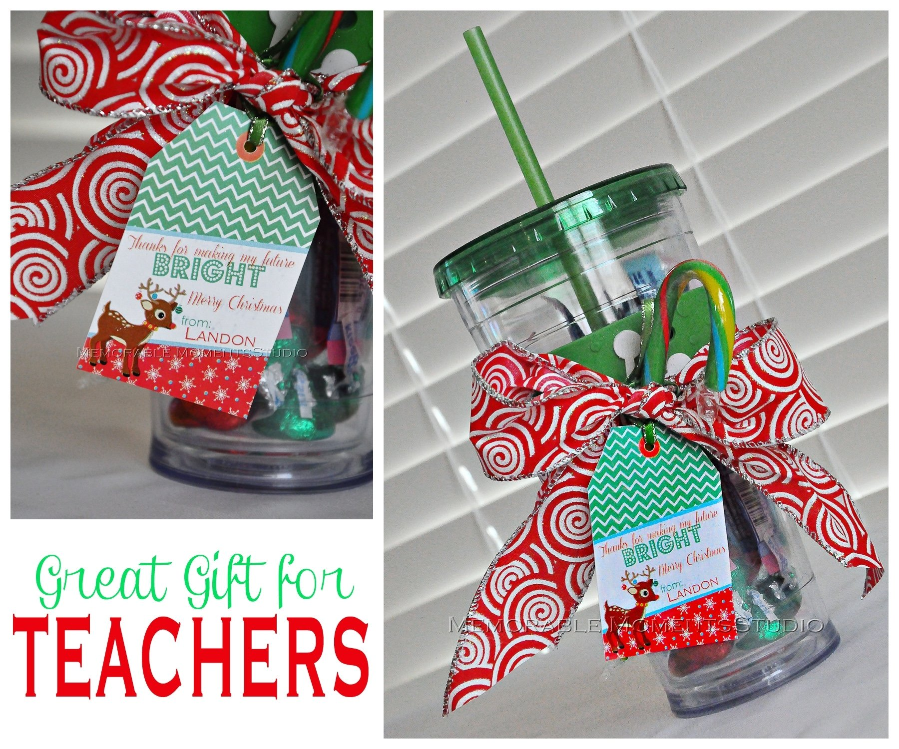 10 Ideal Teacher Gift Ideas For Christmas diy gift idea of the day teacher gift 3 2020