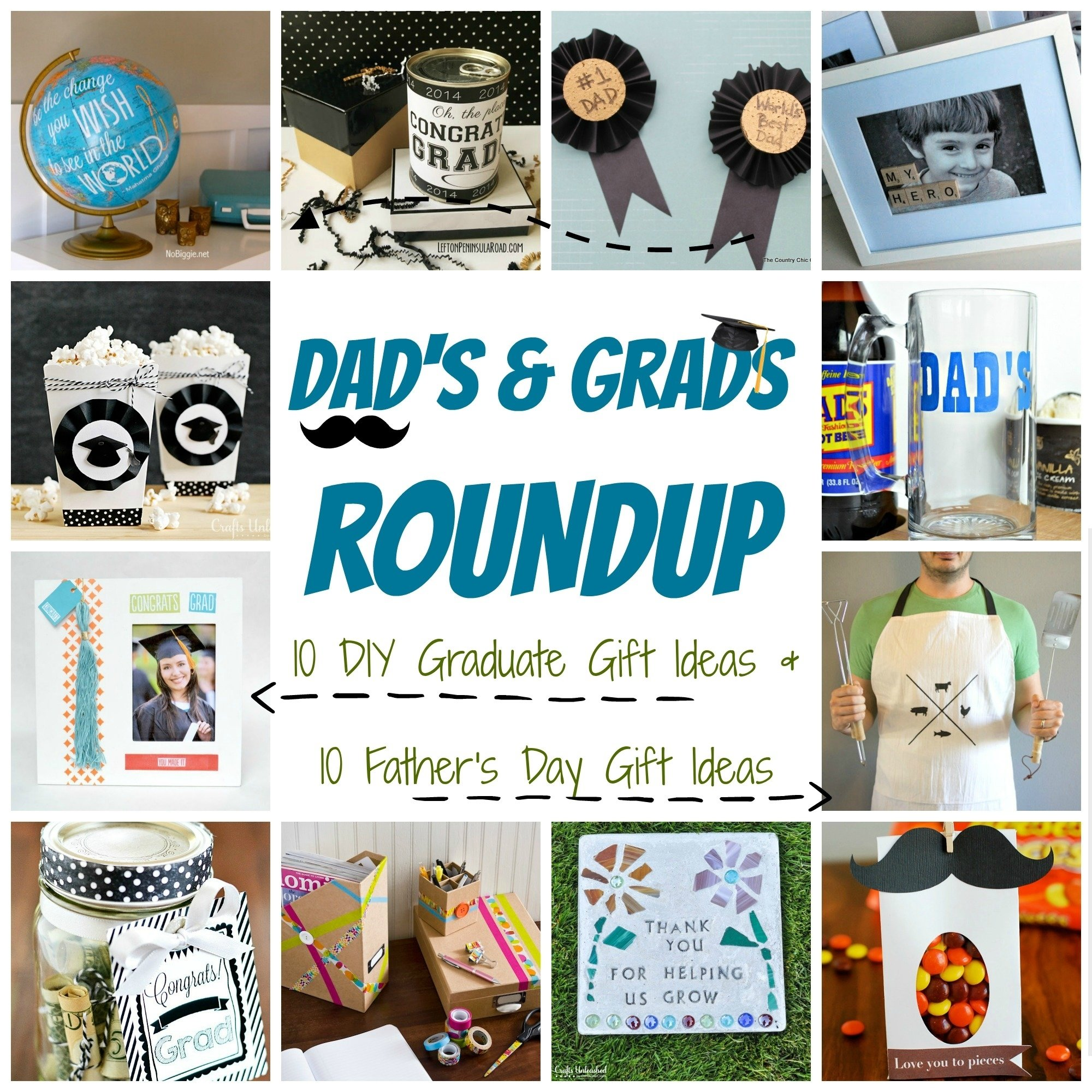 10 Elegant Homemade Gift Ideas For Dad diy gift ideas dads grads roundup crafts unleashed 1 2021