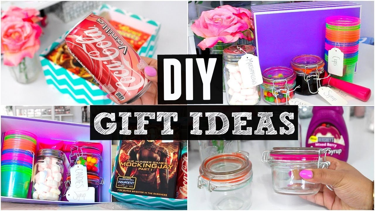 10 Gorgeous Cheap Gift Ideas For Friends diy gift ideas easy affordable youtube 1