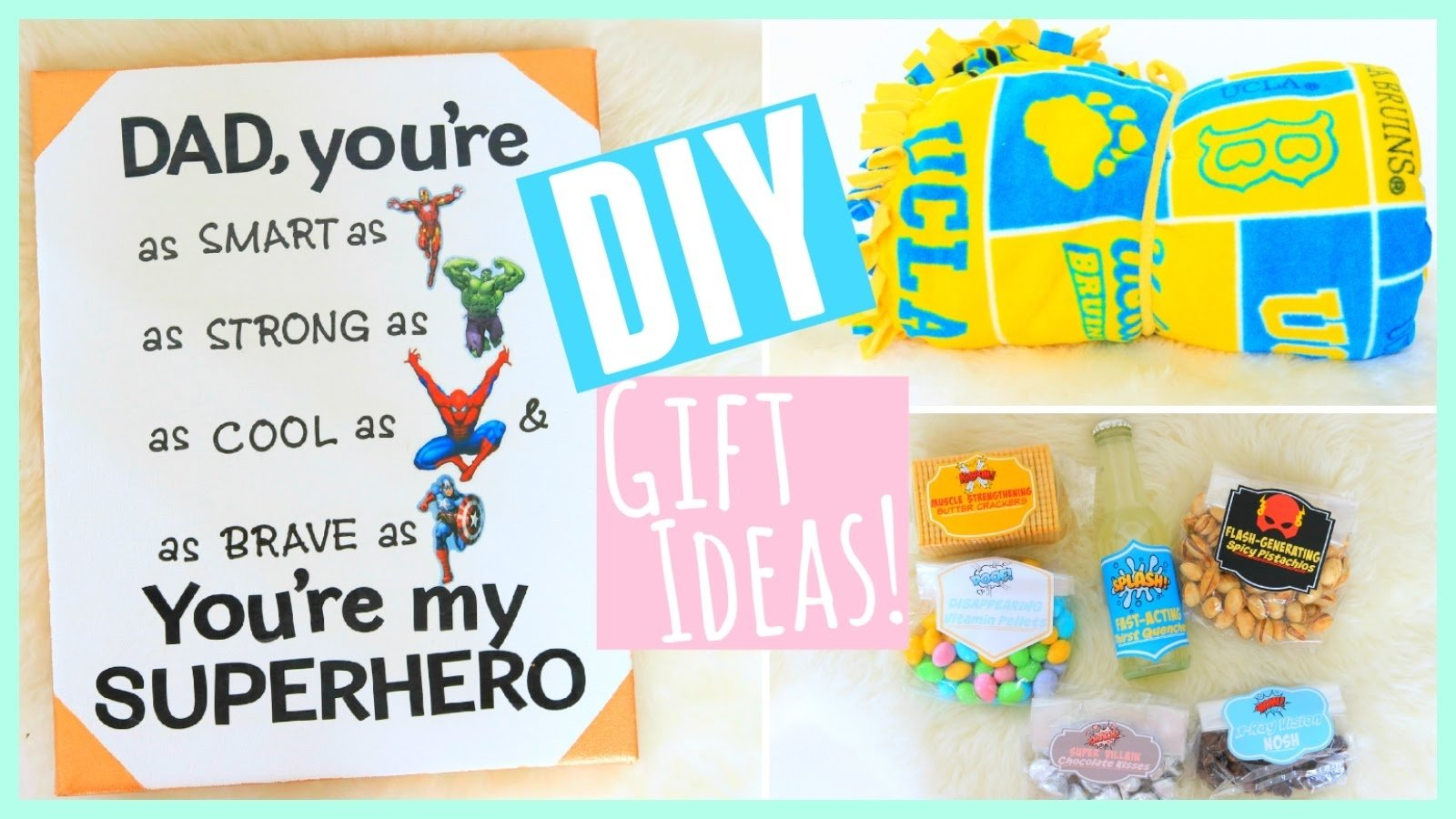 diy gift ideas for father's day!! 2015 - youtube