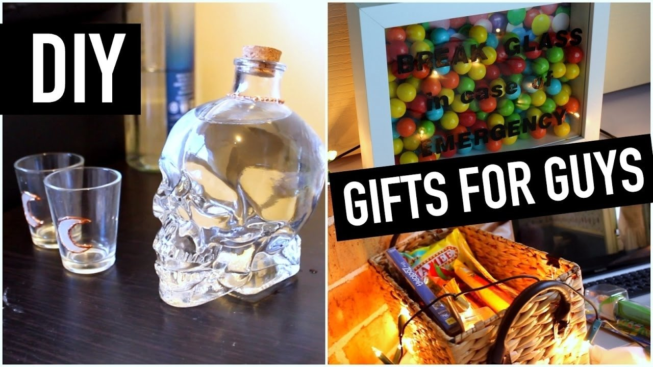 10 Spectacular Cool Birthday Gift Ideas For Guys diy gift ideas for guys best friend brother dad etc last minute 1