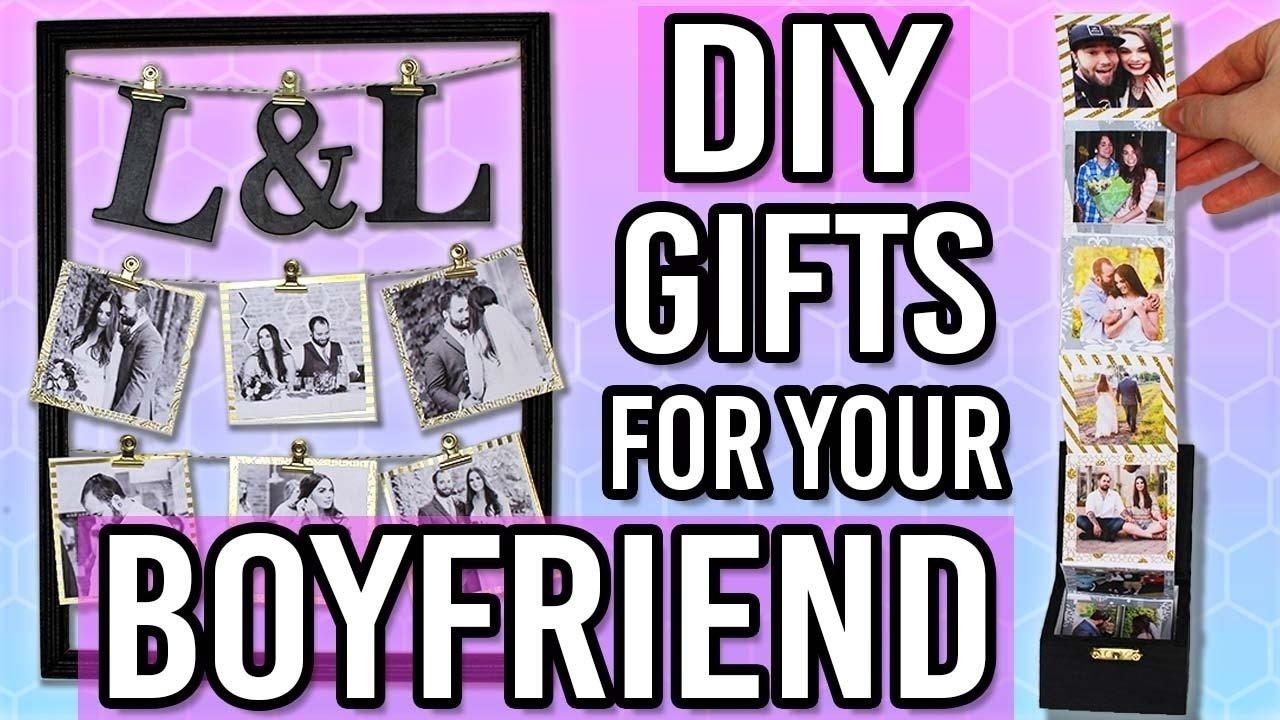 10 Trendy Gift Ideas For Your Boyfriend diy gift ideas for your boyfriend husband thoughtful diy gifts for 1